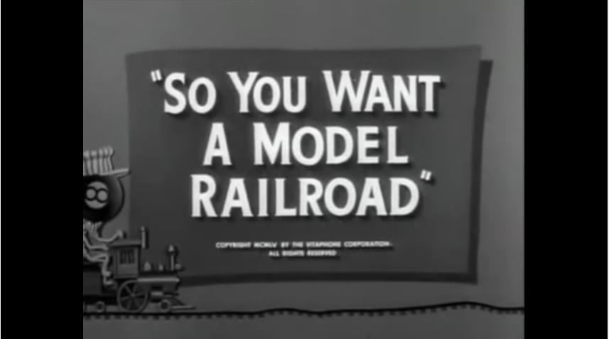So You Want a Model Railroad