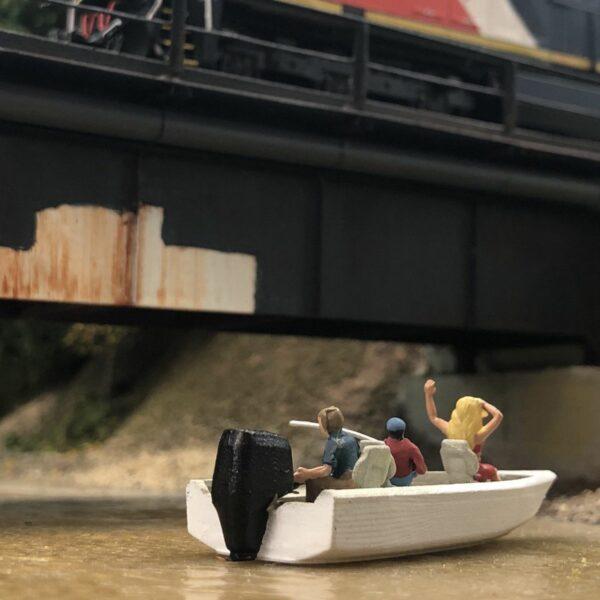 Model Fishing Boat miniature