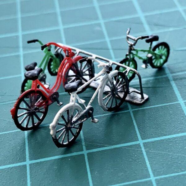 Miniature model bikes