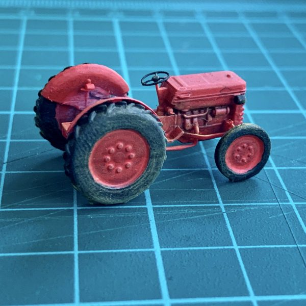 miniature model scale tractor