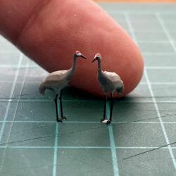 HO scale crane models