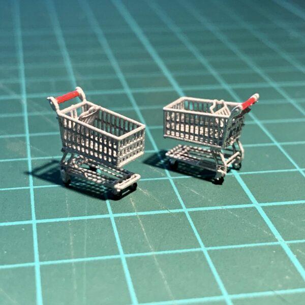 model shopping cart